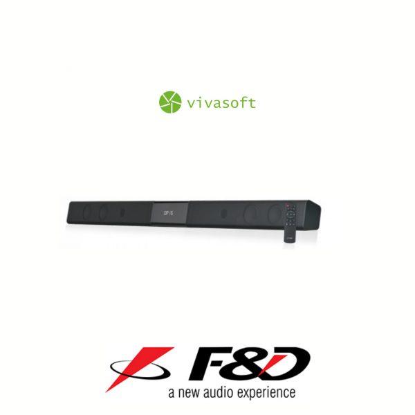 barra de sonido bogota led f&d