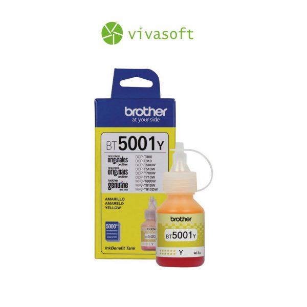 Botella-Tinta-Brother-BT5001-Yellow-48.8ML-impresora