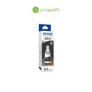 Botella Tinta Epson 664 Black 70ML En Caja impresora bogota