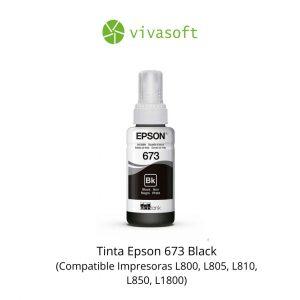 En bogota Botella Tinta Epson 673 Black 70ML En Caja para impresora