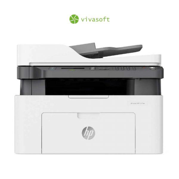 En bogota Impresora HP Laser Multifuncional Monocromatica M137FW (Reseteada)