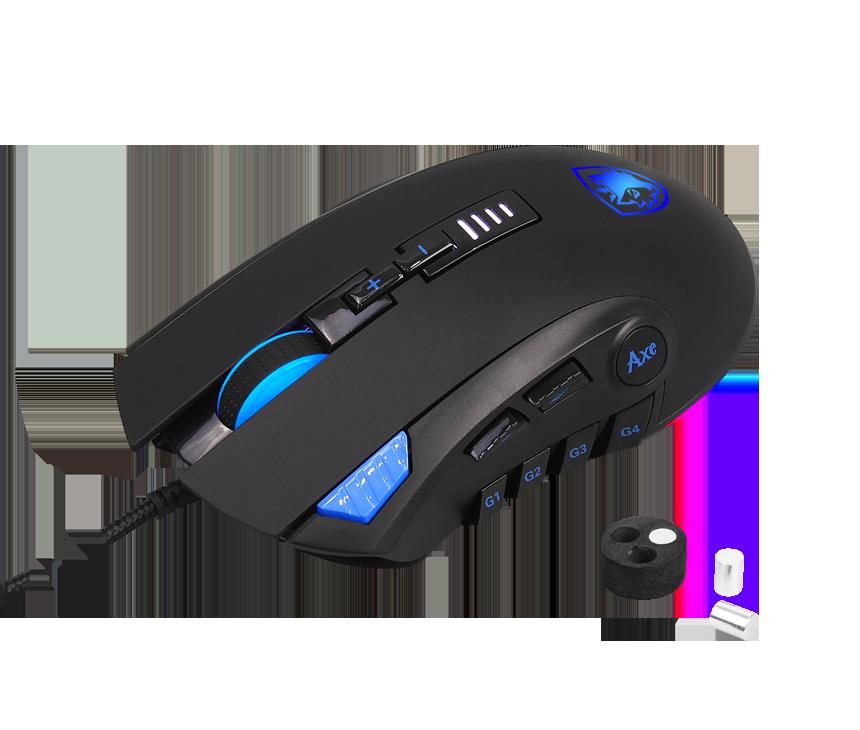Mouse Gamer Sades Rgb Ref. Axe ventas en bogota