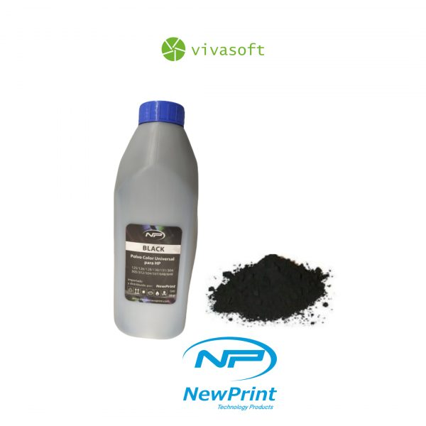 Venta en bogota Polvo Para Toner De Color Black HP Universal 500GM