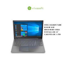 Portatil Lenovo V130 14IGM Intel Celeron 4GB 1TB en bogota , computadores en bogota