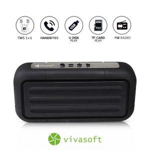 Parlante Bluetooth Kisonli Ref. S3 venta de tecnologia bogota